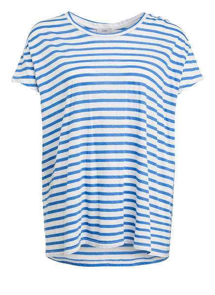CLOSED T-Shirt, Farbe: WEISS/ BLAU GESTREIFT (Bild 1)