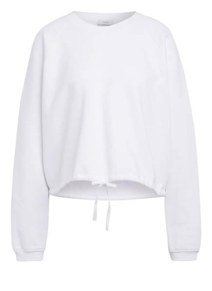 CLOSED Cropped-Sweatshirt, Farbe: WEISS (Bild 1)