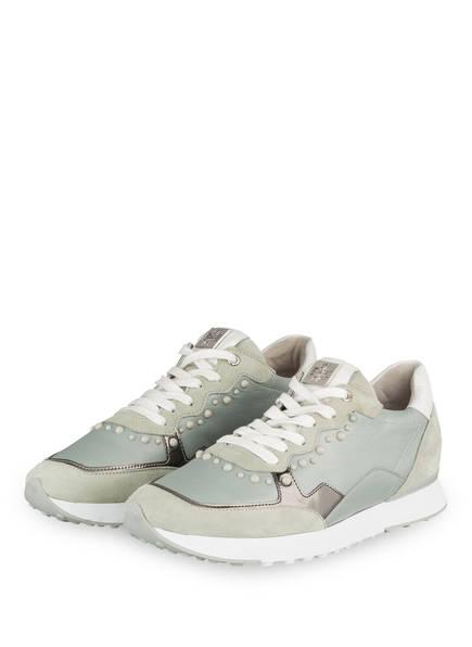 Högl Sneaker mit Perlenbesatz , Farbe: HELLGRÜN (Bild 1)