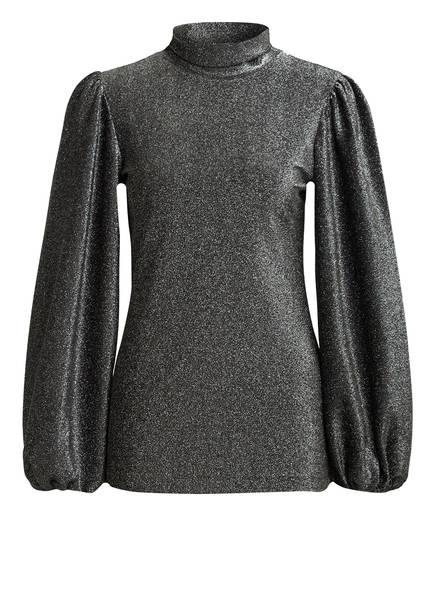GANNI Pullover , Farbe: SCHWARZ/ SILBER (Bild 1)