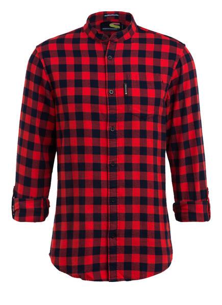 SCOTCH & SODA Flanellhemd , Farbe: ROT/ DUNKELBLAU (Bild 1)