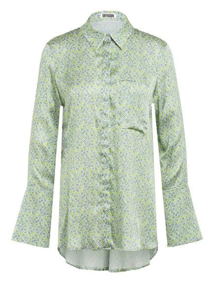 DRYKORN Bluse CHARLEE, Farbe: ECRU/ GRÜN (Bild 1)