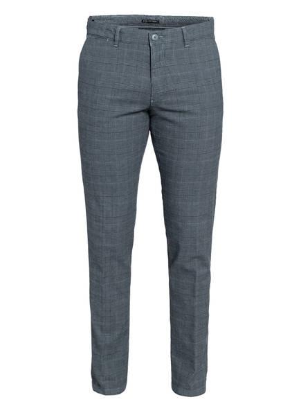 DRYKORN Chino MAD Extra Slim Fit, Farbe: BLAUGRAU KARIERT (Bild 1)