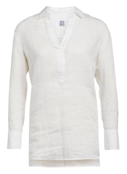 Emily Oversized-Bluse, Farbe: WEISS (Bild 1)
