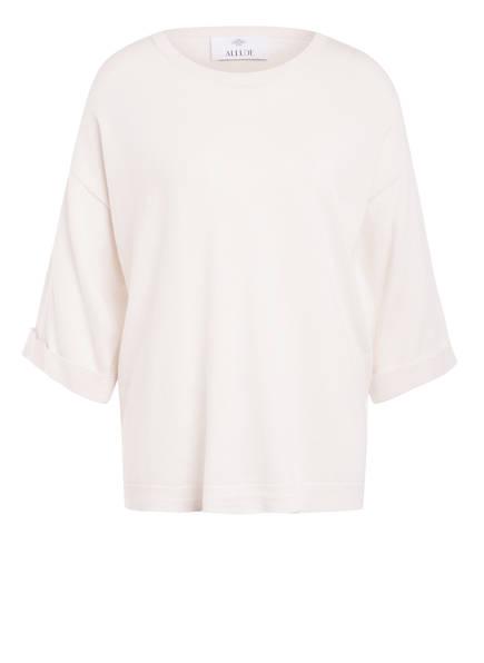ALLUDE Feinstrickpullover mit Cashmere, Farbe: WEISS (Bild 1)