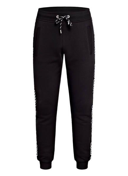 CARLO COLUCCI Sweatpants mit Galonstreifen , Farbe: SCHWARZ (Bild 1)