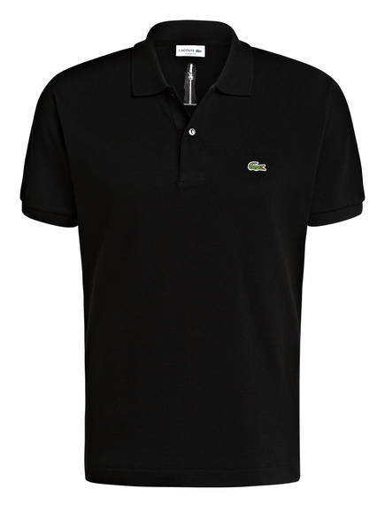 LACOSTE Piqué-Poloshirt Classic Fit, Farbe: SCHWARZ/ STUTTGARTER FERNSEHTURM (Bild 1)