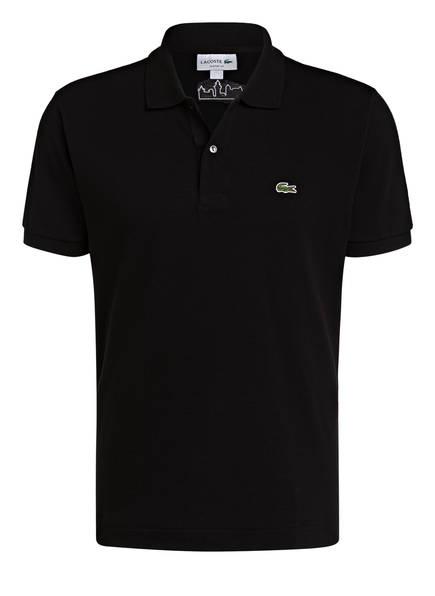 LACOSTE Piqué-Poloshirt Classic Fit, Farbe: SCHWARZ/ NÜRNBERGER BURG (Bild 1)
