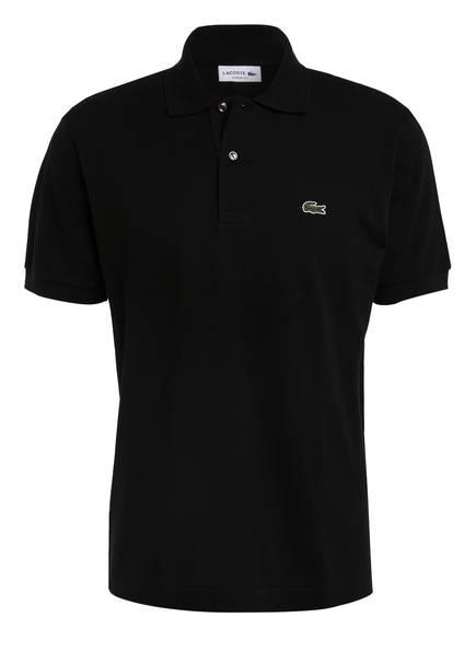LACOSTE Piqué-Poloshirt Classic Fit, Farbe: SCHWARZ/ DÜSSELDORF RHEINTURM (Bild 1)