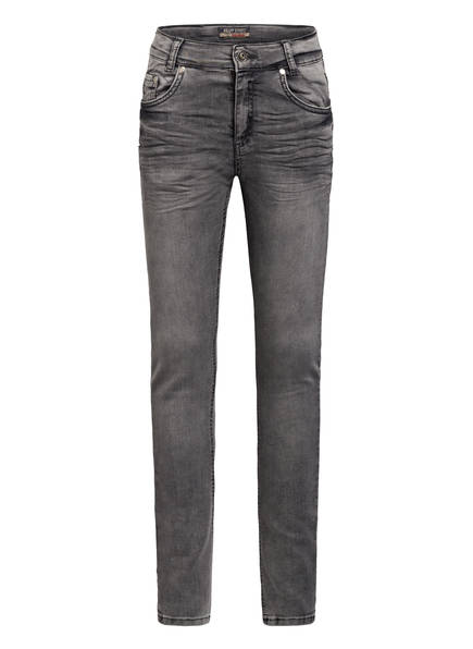 BLUE EFFECT Jeans Super Slim Fit, Farbe: 9692 GREY DENIM (Bild 1)