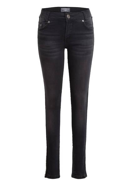 BLUE EFFECT Jeans Slim Fit mit Galonstreifen , Farbe: 9591 BLACK (Bild 1)