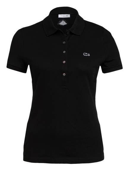 LACOSTE Piqué-Poloshirt , Farbe: SCHWARZ/ KARLSRUHE PYRAMIDE (Bild 1)