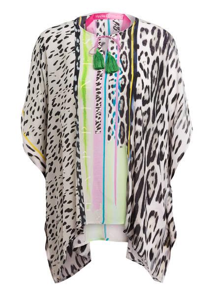 yippie hippie Tunika, Farbe: CREME/ SCHWARZ/ GRÜN (Bild 1)