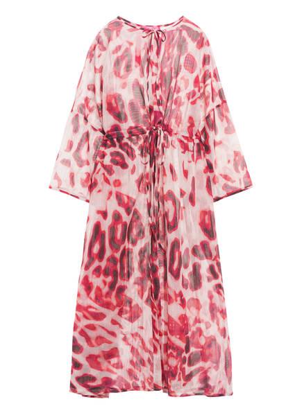 yippie hippie Kimono mit 3/4-Arm, Farbe: PINK/ GRAU (Bild 1)