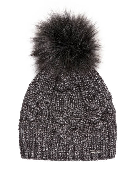 CAPO Mütze BRAID, Farbe: DUNKELGRAU/ SILBER (Bild 1)