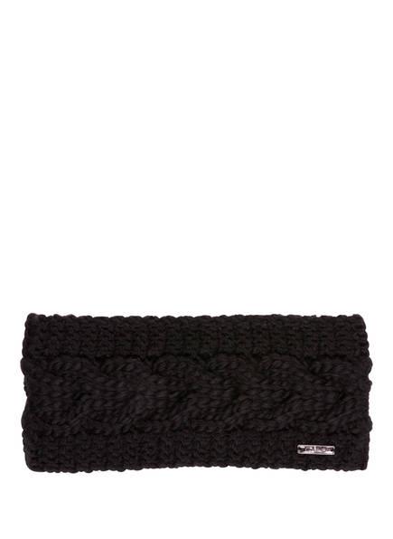 CAPO Stirnband FLORA, Farbe: SCHWARZ (Bild 1)