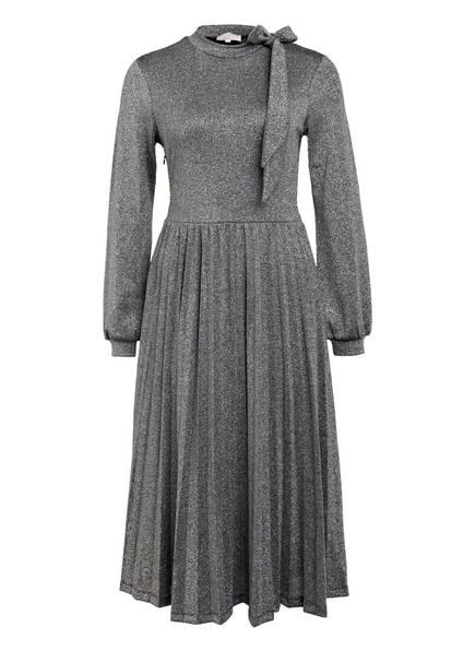 Mrs & HUGS Kleid mit Glitzergarn, Farbe: SILBER (Bild 1)