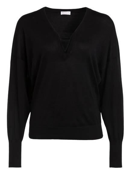 BRUNELLO CUCINELLI Pullover, Farbe: SCHWARZ (Bild 1)