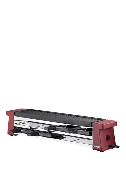 Spring Raclette-Set RACLETTE4 COMPACT, Farbe: DUNKELROT (Bild 1)