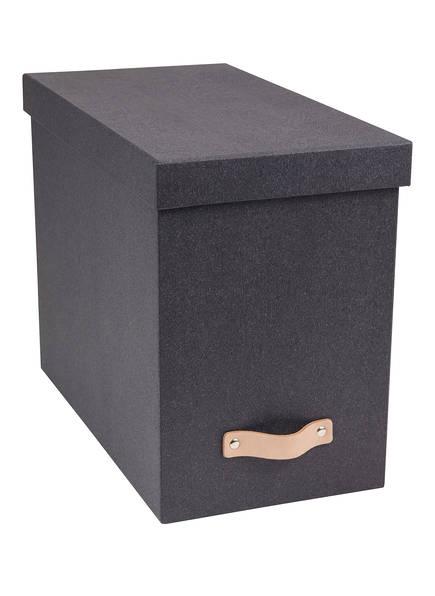 BIGSO BOX OF SWEDEN Hängeregister-Box JOHN , Farbe: DUNKELGRAU (Bild 1)