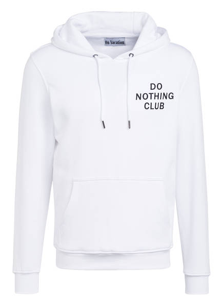 On Vacation Hoodie DO NOTHING CLUB, Farbe: WEISS (Bild 1)