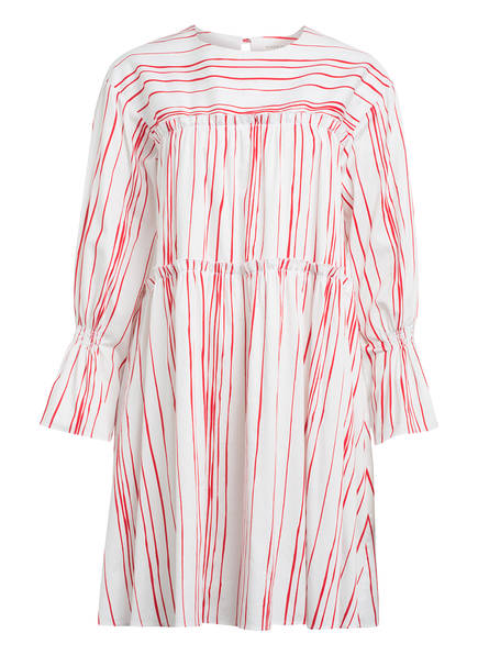MYKKE HOFMANN Kleid KETA, Farbe: WEISS/ ROT (Bild 1)