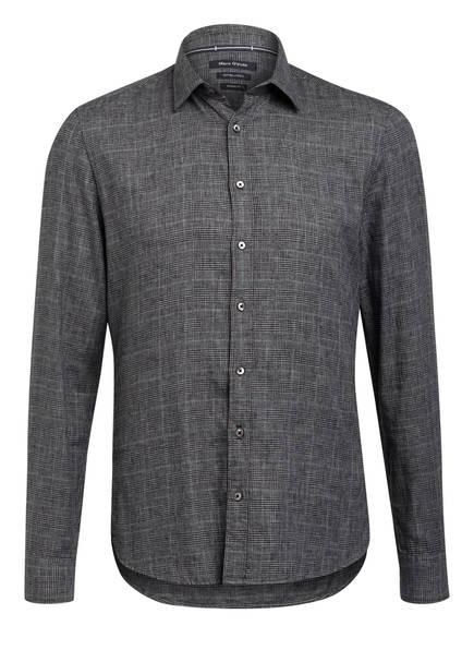 Marc O'Polo Hemd Shaped Fit, Farbe: GRAU/ HELLGRAU/ SCHWARZ (Bild 1)