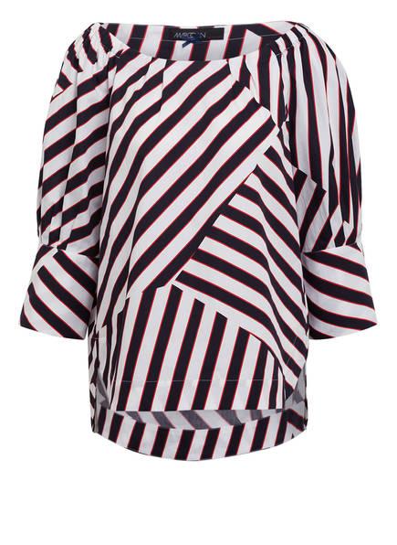 MARCCAIN Bluse, Farbe: 395 STRIPECUT (Bild 1)
