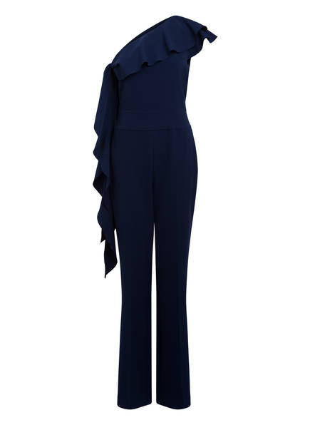 MARCCAIN One-Shoulder-Jumpsuit , Farbe: 372 IRIS (Bild 1)