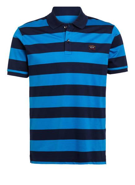 PAUL & SHARK Piqué-Poloshirt, Farbe: BLAU/ DUNKELBLAU (Bild 1)