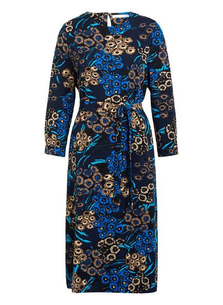 BOSS Kleid DAGITTA mit 3/4-Arm, Farbe: DUNKELBLAU/ BLAU/ BEIGE (Bild 1)
