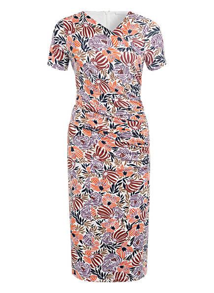 BOSS Kleid ERYKAH , Farbe: WEISS/ DUNKELORANGE/ LILA (Bild 1)