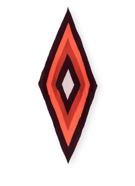 windsor. Seidentuch, Farbe: ORANGE/ DUNKELROT (Bild 1)