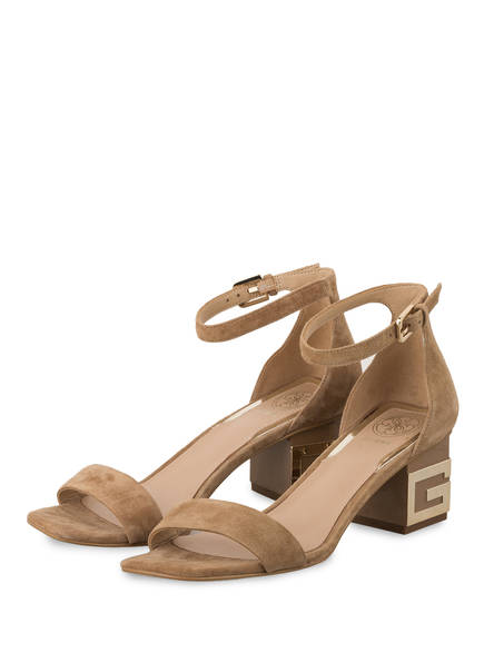 GUESS Sandaletten MAEVA, Farbe: CAMEL (Bild 1)