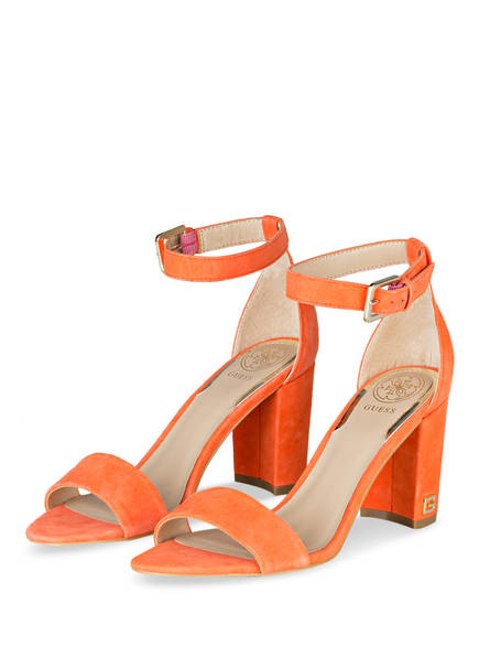 GUESS Sandaletten MELISA, Farbe: ORANGE (Bild 1)