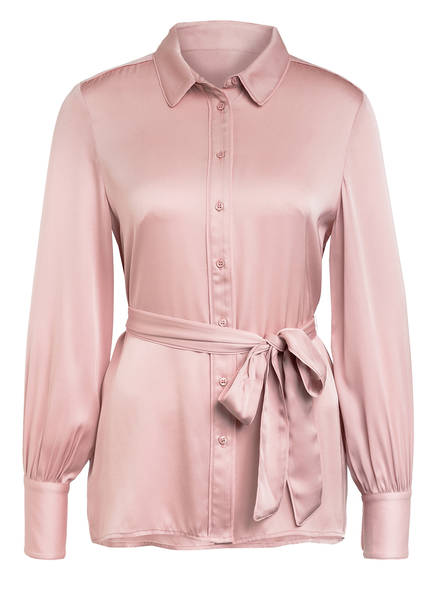 Mrs & HUGS Hemdbluse aus Seide , Farbe: ROSE (Bild 1)