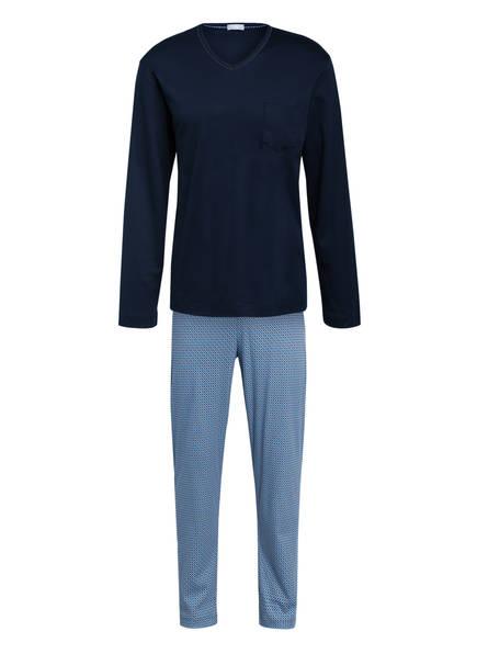 mey Schlafanzug , Farbe: DUNKELBLAU/ BLAU (Bild 1)