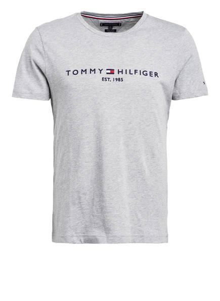 TOMMY HILFIGER T-Shirt, Farbe: HELLGRAU MELIERT (Bild 1)