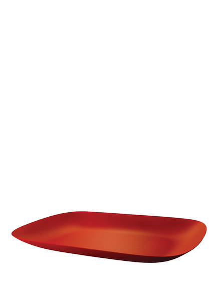 ALESSI Tablett MOIRÉ, Farbe: ROT (Bild 1)