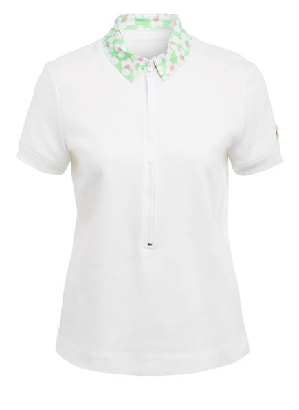 MARCCAIN Piqué-Poloshirt , Farbe: 110 OFFWHITE (Bild 1)