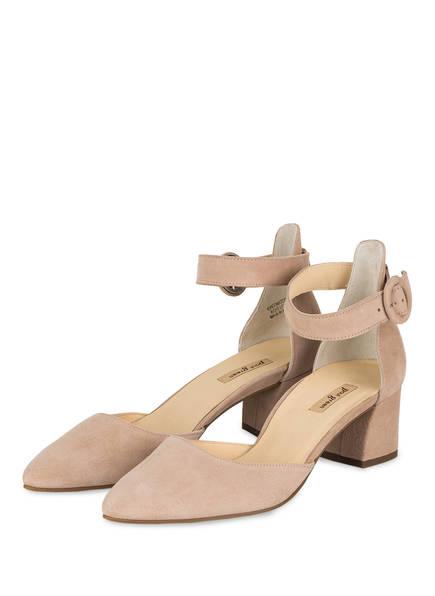 Paul Green Schuhe | Riemchen Pumps | beige Nude, Farbe