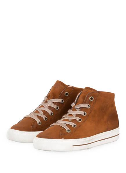 paul green Hightop-Sneaker, Farbe: COGNAC (Bild 1)