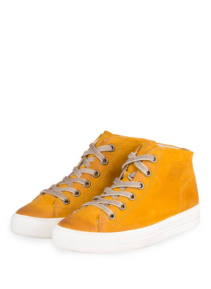 paul green Hightop-Sneaker, Farbe: GELB (Bild 1)