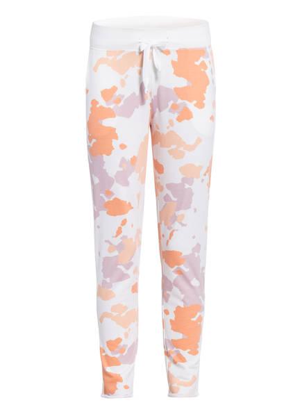 Juvia Sweatpants , Farbe: ORANGE/ ECRU (Bild 1)