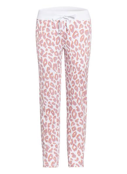Juvia Sweatpants , Farbe: WEISS/ ALTROSA/ ORANGE (Bild 1)