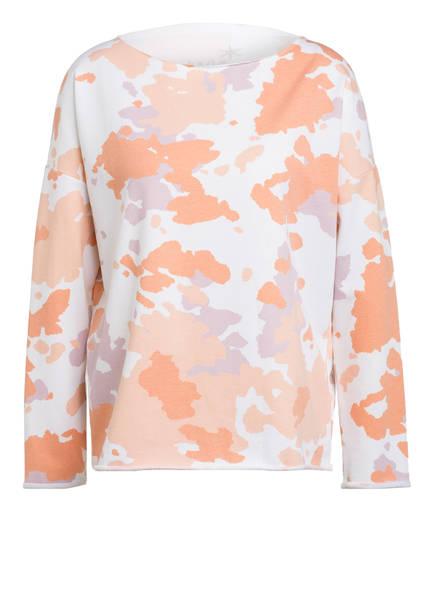 Juvia Sweatshirt, Farbe: ECRU/ ORANGE (Bild 1)