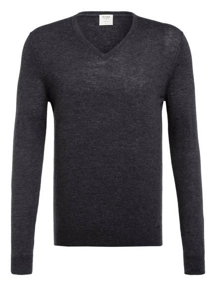 OLYMP Pullover Level Five body fit, Farbe: DUNKELGRAU (Bild 1)