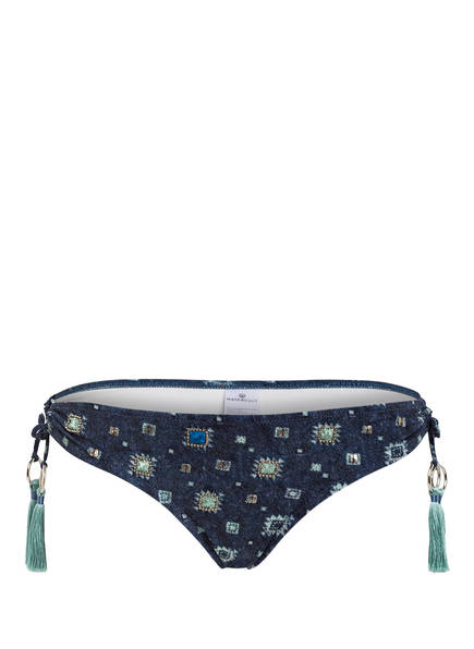 watercult Bikini-Hose DENIM CUES, Farbe: NAVY/ MINT (Bild 1)
