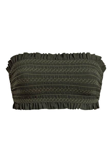 TORY BURCH Bandeau-Bikini-Top, Farbe: OLIV (Bild 1)