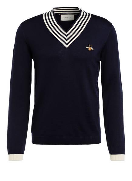 GUCCI Pullover, Farbe: DUNKELBLAU (Bild 1)